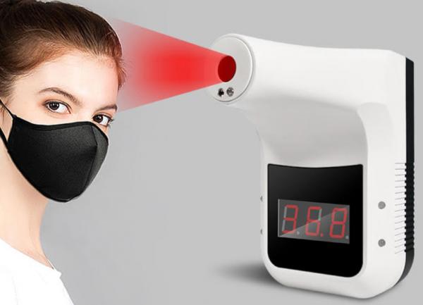 termometro infrarojo mide temperatura corporal proteccion Covid